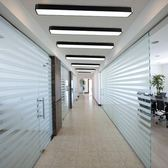 辦公室led吸頂燈簡約現代會議室長方形陽臺過道走廊長條吊燈具 英雄聯盟igo