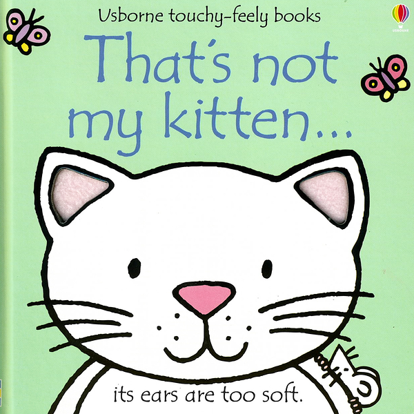 That's Not My Kitten 那不是我的小貓觸摸書
