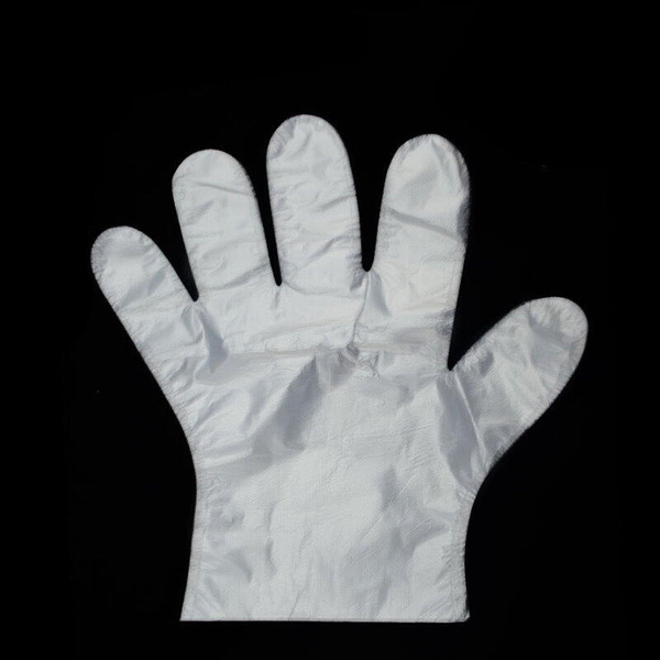 【DC390】一次性手套薄款100入 袋裝 手扒雞手套 拋棄式手套 塑膠手套 PE手套 EZGO商城