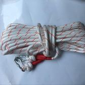 登山繩 消防繩套裝安全救生繩套餐鋼絲繩酒店家用逃生鋼絲芯繩戶外救生繩 卡菲婭