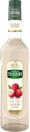 Teisseire 糖漿果露-荔枝風味 Litchi Syrup 法國頂級天然糖漿 700ml-【良鎂咖啡精品館】