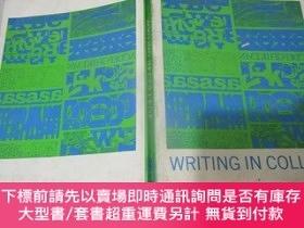 二手書博民逛書店writing罕見in collegeY21963 WILLIAM J.KERRIGAN HARCOURT B