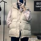 羽絨棉馬甲女2020春秋季新款韓版寬鬆短款坎肩背心顯瘦面包服外套-完美