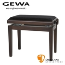 【缺貨】GEWA 原廠咖啡色 可調整高度鋼琴椅/電鋼琴椅/電子琴椅/piano琴椅/Keyboard椅【型號: 130040】