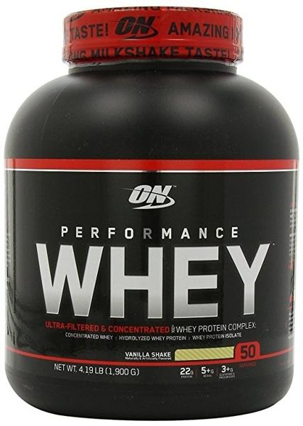 ON PERFORMANCE 乳清蛋白4.19磅(香草)(健身 高蛋白) 公司貨