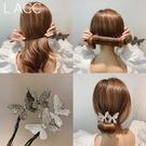 盤髪器 2020韓國代購新款丸子頭盤髮器網紅懶人蝴蝶編髮造型神器女