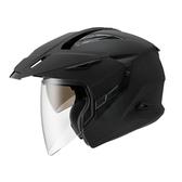 ZEUS瑞獅安全帽,ZS-613A,素色/消光黑