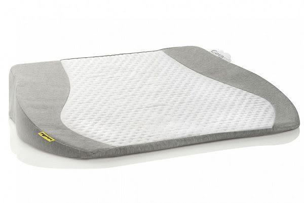 法國Babymoov 舒適15度角傾斜枕/三角枕/防溢奶枕/側睡枕/柔軟透氣枕-銀河灰