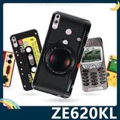 ASUS ZenFone 5 ZE620KL 復古偽裝保護套 軟殼 懷舊彩繪 計算機 鍵盤 錄音帶 矽膠套 手機套 手機殼