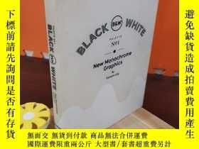 二手書博民逛書店Black罕見& White - New Monochrome GraphicsY308064 Viction