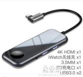 USB插頭ypec擴展塢蘋果電腦轉換器macbookpro千兆網口轉【免運】