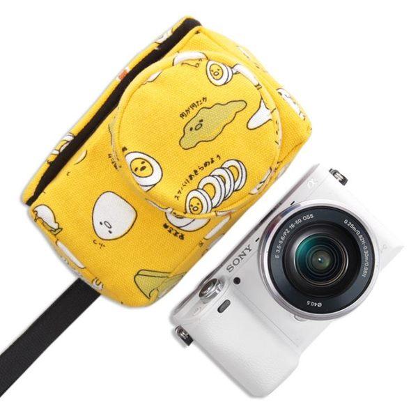 年終大清倉索尼ILCE-a6000L a6300 5100L微單相機包可愛卡通內膽包套多色