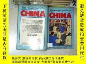 二手書博民逛書店THE罕見ROUGH GUIDE TO CHINA 中國簡略指南 32開 01Y261116