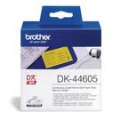 Brother DK-44605 黃底黑字 原廠連續標籤帶 適用QL-500.QL-550.QL-570.QL-580N.QL-650TD.QL-1050.QL-1060N