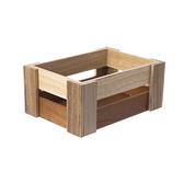 HOLA Kiri漸層木條收納盒(M)