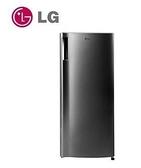 含運+安裝 LG SMART 變頻單門冰箱 精緻銀/ 191公升  GN-Y200SV