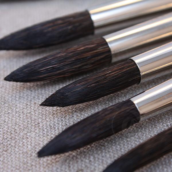 『ART小舖』Da vinci 德國達芬奇 學生級 315 紅桿動物混和毛水彩畫筆 4號 單支