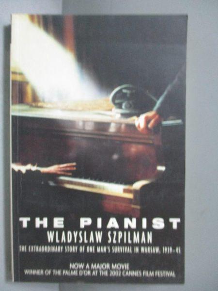【書寶二手書T7/原文小說_OOL】The Pianist_Wladyslaw Szpilman