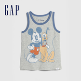 Gap 男幼童 Gap x Disney迪士尼系列圓領無袖上衣 577610-亮麻灰色