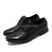 Clarks 皮鞋 Glement Wing 黑 休閒皮鞋 真皮鞋面 男鞋 【PUMP306】 CLM34861AD18
