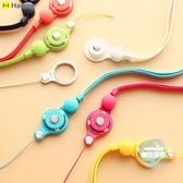相機掛脖繩 手機掛繩 多功能掛脖手指扣 相機證件蘋果可拆卸糖果色日本 6色