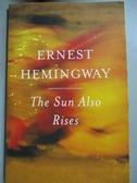 【書寶二手書T1/原文小說_OSX】The Sun Also Rises_Hemingway, Ernest