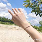 純銀小圓珠轉運珠子手鍊女細款簡約百搭日韓版學生  歐韓流行館