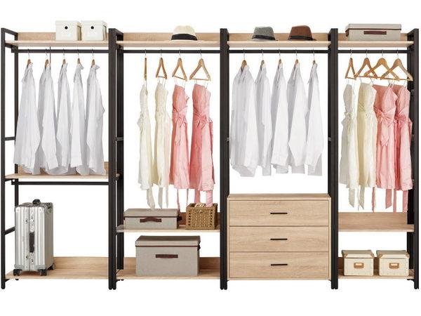 衣櫃 衣櫥 MK-071-1234 艾麗斯9尺衣櫥 【大眾家居舘】