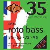 小叮噹的店 英國ROTOSOUND RB35 (35-95) 鎳弦 電貝斯弦 旋弦公司貨