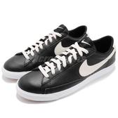 【六折特賣】Nike 休閒鞋 Blazer Low LTHR 黑 白 皮革 經典款 男鞋 運動鞋 【PUMP306】 AJ9515-001