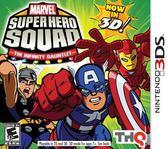 3DS Marvel Super Hero Squad The Infinity of the Gauntlet 3D Q版超級英雄大戰:極限挑戰 3D(美版代購)