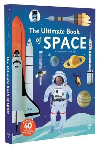 The Ultimate Book Of Space 太空小百科 翻頁推拉書