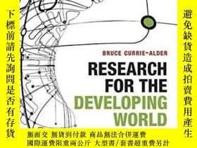 二手書博民逛書店Research罕見For The Developing World: Public Funding From A