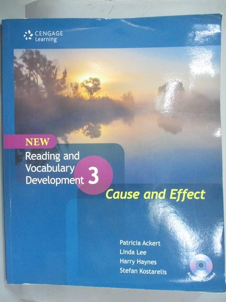 【書寶二手書T9/語言學習_ONA】Reading and Vocabulary Development3_附光碟_Li
