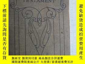 二手書博民逛書店THE罕見NEW TESTAMENT****A6Y195160