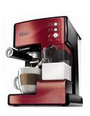 美國OSTER 奶泡大師義式咖啡機 BVSTEM6602 PRO升級版 紅色款 ◤贈咖啡豆◢