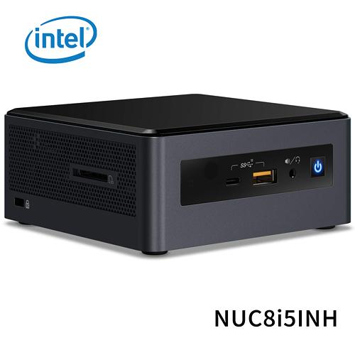 (不含作業系統和硬碟) intel NUC8I5INH 迷你電腦主機 (CPU i5-8265U/RAM 8GB LPDDR3/GPU Radeon 540X 2G)