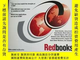 二手書博民逛書店Linux罕見for S 390 (IBM Redbook)(1