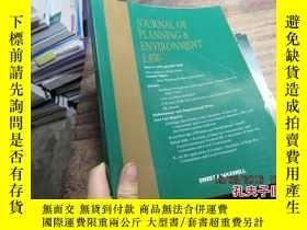 二手書博民逛書店journal罕見of planning environment