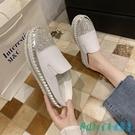 半拖鞋 包頭女夏季外穿2020新款懶人無后跟時尚拖鞋爆款厚底涼拖鞋 OO13619【科炫3c】