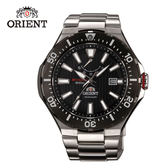 ORIENT 東方錶 M-FORCE FOR AIR DIVING系列 潛水機械錶 鋼帶款 SEL07002B 黑色 - 49.1mm