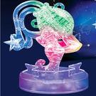 3D立體水晶拼圖 12星座 立體拼圖 (水瓶座-發光) 聖誕節 交換禮物 情人 生日-艾發現
