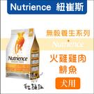 Nutrience紐崔斯〔無穀養生犬糧,火雞+雞+鯡魚,5kg,加拿大製〕