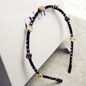 髮圈(任兩件)-歐美風格金錢符號女髮箍4款73gi71【時尚巴黎】