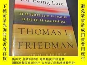 二手書博民逛書店Thank罕見You for Being Late:An Optimist s Guide to Thriving