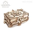 免運x現貨⎪UGEARS 木製自走模型 - 古董盒 Antique Box 烏克蘭 機械驚奇 科學 益智玩具