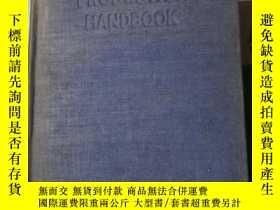 二手書博民逛書店英文原版工具書《PRODUCTION罕見HANDBOOK》 生產