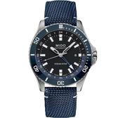 MIDO美度 Ocean Star 海洋之星 GMT雙時區 200米潛水機械錶 M0266291705100