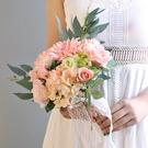 韓式高檔永生新娘手捧花