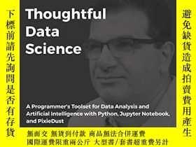 二手書博民逛書店Thoughtful罕見Data ScienceY255562 David Taieb Packt Publi